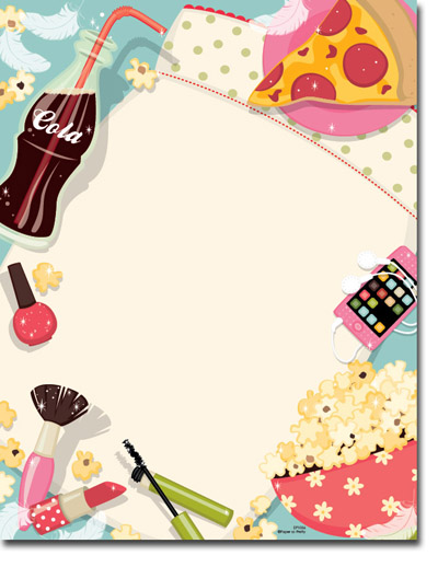 Blank Sleepover Party Invitations Images Pictures Moyuk – Blank Party Invitations