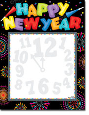Paper So Pretty - Blank Designer Papers (Happy New Year Party)