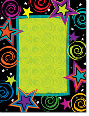 Paper So Pretty - Blank Designer Papers (Bright Stars) (DP1166)
