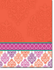 Paper So Pretty - Blank Designer Papers (Damask Elegance) (DP1186)