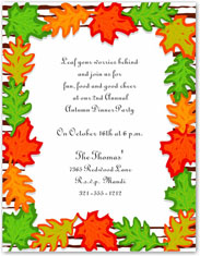 Paper So Pretty - Designer Papers (Fall Leaves - DP447)