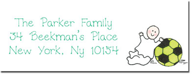Blue Mug Designs Return Address Labels - Twin Lockers