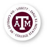 Noteworthy Collections College Address Labels - Texas A&M White Label (Texas A&M University) (CQ-TAM08)