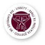 Noteworthy Collections College Address Labels - Texas A&M Star Label (Texas A&M University) (CQ-TAM09)