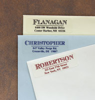 Rytex - Chevalier Address Labels (Rectangular)