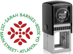 More Than Paper - Custom Self-Inking Stamps (Barnes)