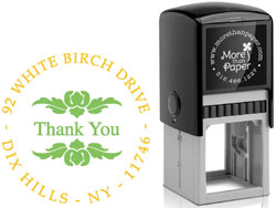 More Than Paper - Custom Self-Inking Stamps (Elegant Frame)