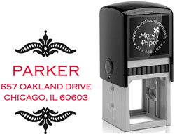More Than Paper - Custom Self-Inking Stamps (Parker)
