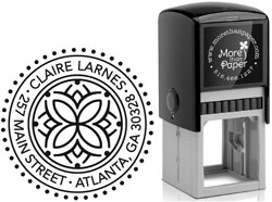 More Than Paper - Custom Self-Inking Stamps (Celtic Design)