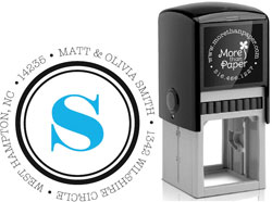 More Than Paper - Custom Self-Inking Stamps (Simply Stated)