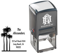 Mason Row - Square Self-Inking Stamp (Alexander)