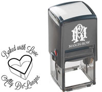 Mason Row - Square Self-Inking Stamp (Ally)