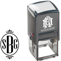 Mason Row - Square Self-Inking Stamp (Blaine)