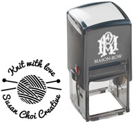 Mason Row - Square Self-Inking Stamp (Choi)