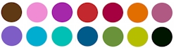 Noteworthy Collections - Ink Cartridge Colors