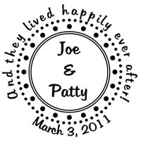 PJ Invites - Custom Stamp (STA158)
