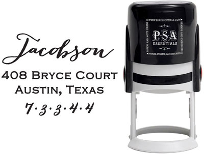 PSA Essentials - Custom Address Stamper (Jacobson)