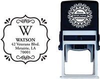 Three Designing Women - Custom Self-Inking Stamps #CS-3233