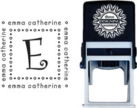 Three Designing Women - Custom Self-Inking Stamps #CS-3281