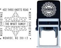 Three Designing Women - Custom Self-Inking Stamps #CS-3517