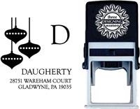 Three Designing Women - Custom Self-Inking Stamps #CS-3526