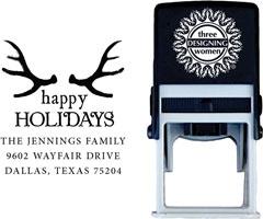 Three Designing Women - Custom Self-Inking Stamps #CS-H10002S