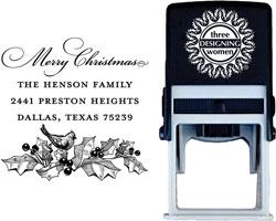 Three Designing Women - Custom Self-Inking Stamps #CS-H10005S