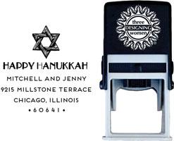 Three Designing Women - Custom Self-Inking Stamps #CS-H10019S