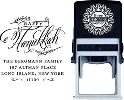 Three Designing Women - Custom Self-Inking Stamps #CS-H10021S