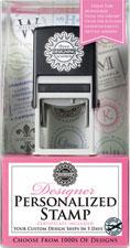 Three Designing Women - Custom Stamper Gift Certificate