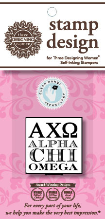 Alpha Chi Omega (ACO - Greek) Mix n Match Clip Packs by Three Designing Women