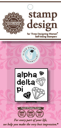 Alpha Delta Pi (ADP - Symbol) Mix n Match Clip Packs by Three Designing Women