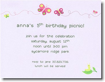 Boatman Geller - Butterfly Birth Announcements/Invitations