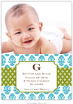 Boatman Geller - Beti Teal Photo Birth Announcements & Invitations (#21611)