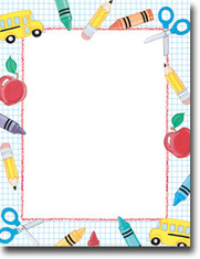 Masterpiece Studios Imprintable Blank Stock - School Stuff Letterhead (901913)
