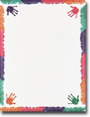 Masterpiece Studios Imprintable Blank Stock - Hands On Letterhead (970830)