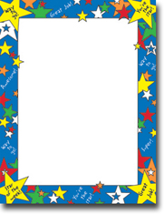 Masterpiece Studios Imprintable Blank Stock - Star Of The Week Letterhead (972774)