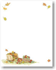 Masterpiece Studios Imprintable Blank Stock - Harvest Apples Letterhead (972811)