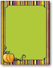 Masterpiece Studios Imprintable Blank Stock - Spooktacular Letterhead (20103002-20103001)