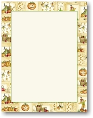 Masterpiece Studios Imprintable Blank Stock - Jacks & Lanterns Letterhead (974981-972981)
