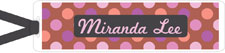 I&#39;m Inkpressed Bookmarks - Miranda Dots (Holiday Papers #BM-1226)