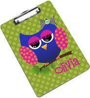 Devora Designs - Clipboards (Allie The Owl)