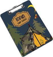 Devora Designs - Clipboards (Camp Life - Tent)