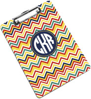 Devora Designs - Clipboards (Cape Cod Poppy - Chevron)