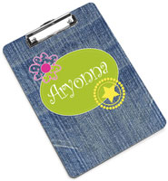 Devora Designs - Clipboards (Jeans Gone Wild) JGWILD-CLPB
