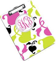 Devora Designs - Clipboards (Spring Pink Lime) SPINKLIME-CLPB