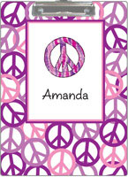 Kelly Hughes Designs - Clipboards (Peace Out Purple) (c391)