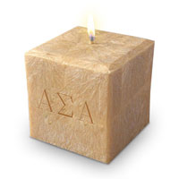 Sorority Candles - Alpha Sigma Alpha (asapn3c-4c)