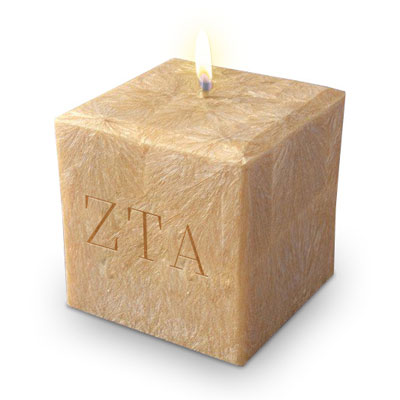 Sorority Candles - Zeta Tau Alpha