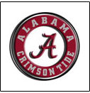 Alabama <br>College Logo Items